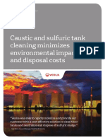 Power - Caustic Sulfuric Tank Cleaning