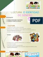 Cultura e Identidad de Genero