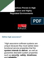 rallyagilehighassurancefornaresh-120310200622-phpapp01