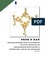 Documento Oficial Pede y Pat 2011