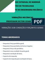 4-Vibracoes Sob Condicoes Forcantes Gerais