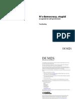 Its Democracy Stupid