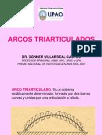 Arcos Triarticulados