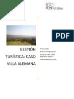 Gestion del Turismo caso Villa Alemana, Chile