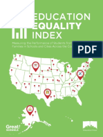 Education Equality Index