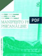 Manifesto pela psicanálise [Erik Porge y otros]