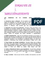 100 MANEIRAS DE SE TORNAR CONSCIENTE.docx