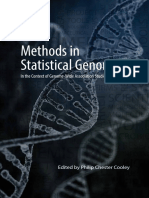 Methods in Statistical Genomics