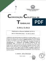 Convenção Coletiva 2012 - Comércio Varejista