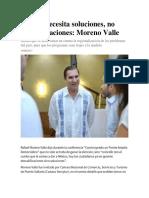 19.08.17 México necesita soluciones, no descalificaciones