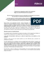 Informe Adecco - La mujer en el mercado laboral