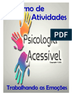 Psicologia Acessível. Caderno de Atividades Trabalhando as Emoções..pdf