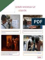 Problemas Sociales en Cúcuta