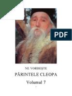 Ne Vorbeste Parintele Cleopa - Volumul 7 - TEXT