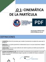 Capítulo 1 - Cinemática de La Partícula (2)