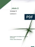 Lectura 3- Las TIC y Educación
