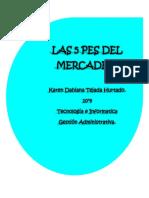 5 PES DEL MERCADEO.