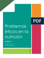 Problemas Éticos en La Nutrición