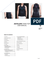 En Antelope Tank Top Manual English