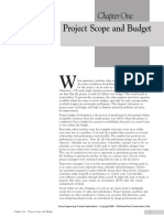 Value Engineering Chapter 1 Scope and Budget