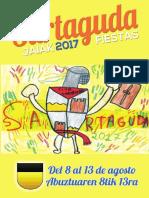 Sartaguda Fiestas 2017