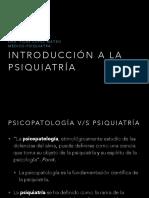 Clase Introducción a La Psiquiatría