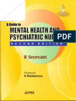 MENTAL HEALTH AND PSYCHIATRIC NURSING