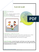 Plan de Clase Textos Narrativos