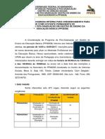 Edital Definitivo Credenciamento 2017