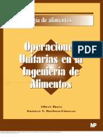 Operaciones Unitarias en La Ingenier a de Alimentos