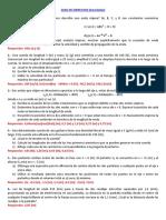 Ejercicios Ondas Desarrollo Mezclados (Con Respuestas) 2016