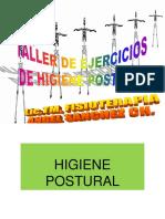 Taller de Higiene Postural Exposicion
