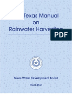 Texas Guide to Rainwater Harvesting - 2005