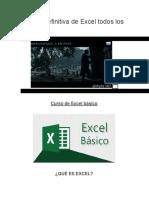 La Guía Definitiva de Excel Todos Los Niveles