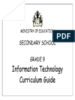 It Curriculum Guide Grade 9