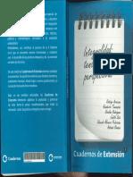 """Tommasino, H. Rodríguez, N. (2011) """"Tres Tesis Básicas Sobre Extensión y Prácticas Integrales en La Universidad de La República"""""""