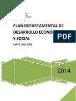 Plan Dptal de Desarrollo 2025