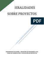 01-2017 Generalidades Sobre Proyectos