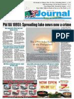 ASIAN JOURNAL September 1, 2017 Edition