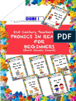 21st Century Teachers' Tales PHONICS for BEGINNERS, Short Vowels Sound - Volume 1
