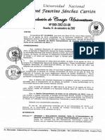 reglamento Grados y Titulos 2012 Universidad jose faustino sanchez carrion