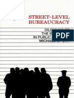 Street-Level Bureaucracy Dilemma-Michael Lipsky