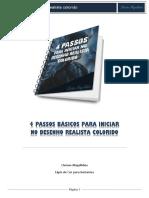 4 Passos Basicos Para Iniciar No Desenho Realista Colorido .pdf