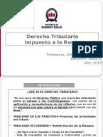 Derecho Tributario - Impuesto a la renta.