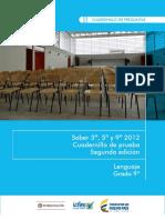 Ejemplos de preguntas saber 9 lenguaje 2012 v3.pdf