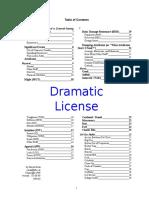 Netgame Dramatic License