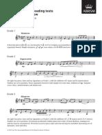 Violin Sightreading