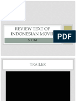 Review Text of Indonesian Movie