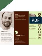 OpenDoors Brochure