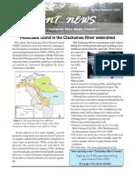 2008 Spring-Summer Current News, Clackamas River Basin Council